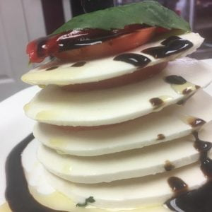 Fresh Mozzarella Tower